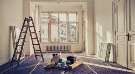 Выполнение ремонта в квартире