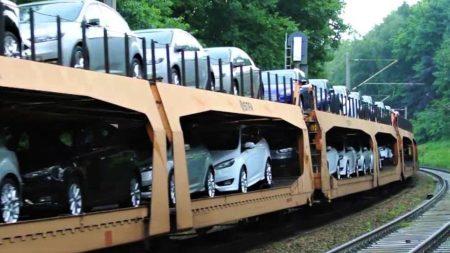 перевозка автомобилей по железной дороге